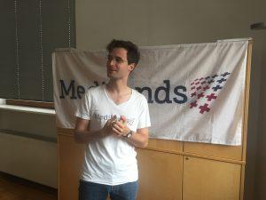 Robert Klunker, Gründer und wiedergewählter Vorsitzender des Medifonds e.V. bei der diesjährigen Mitgliederversammlung.